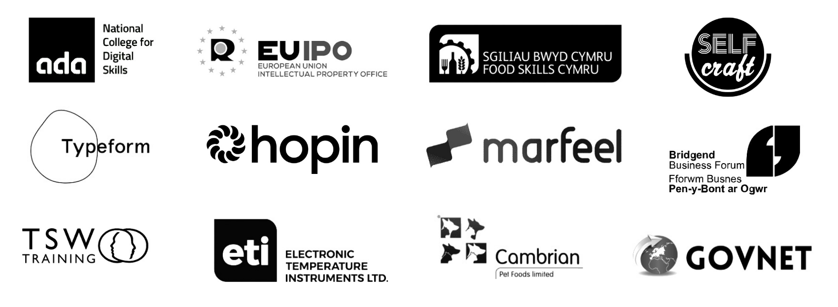 companies I have worked with